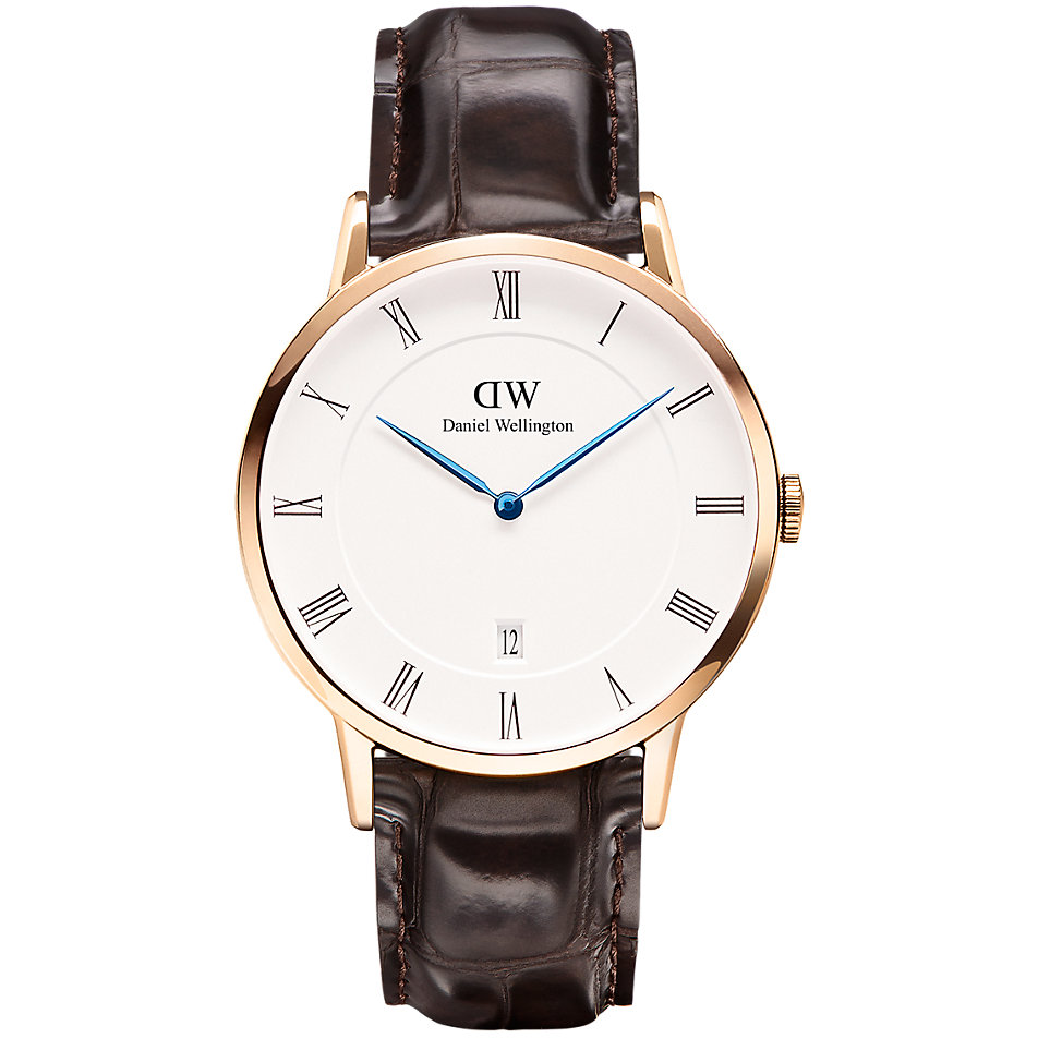 daniel wellington herrenuhr dapper york rose dw00100085 bei bestellen. Black Bedroom Furniture Sets. Home Design Ideas