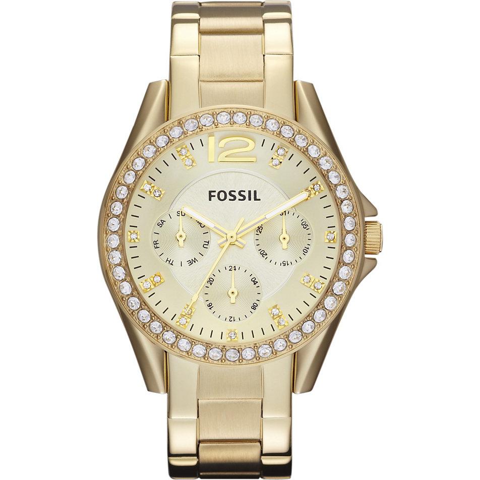 Damenuhr Gold Fossil