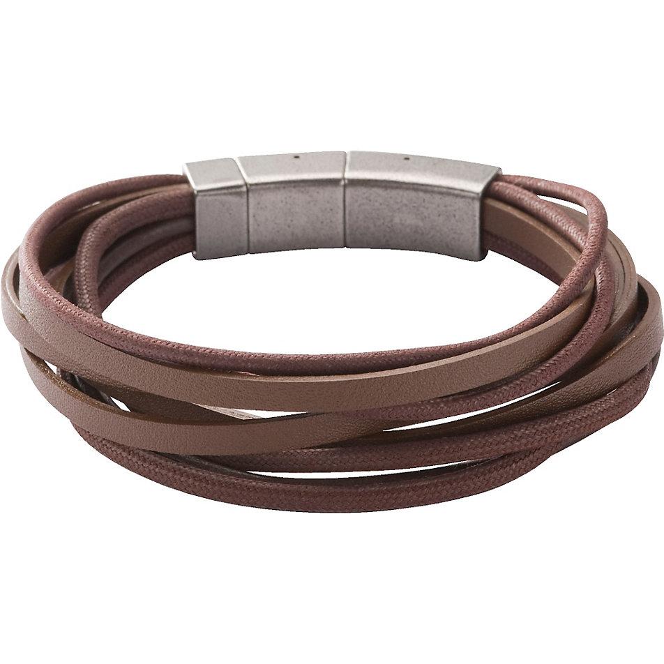 fossil braunes lederarmband jf86202040 bei. Black Bedroom Furniture Sets. Home Design Ideas