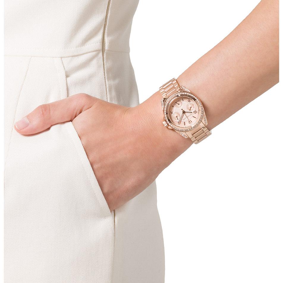 michael kors women 39 s mk5896 parker chronograph dial two. Black Bedroom Furniture Sets. Home Design Ideas