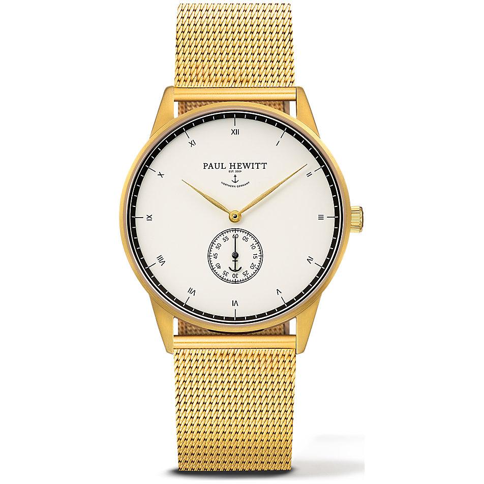 Paul Hewitt Signature Line Uhr Nautical Gold Mark I White