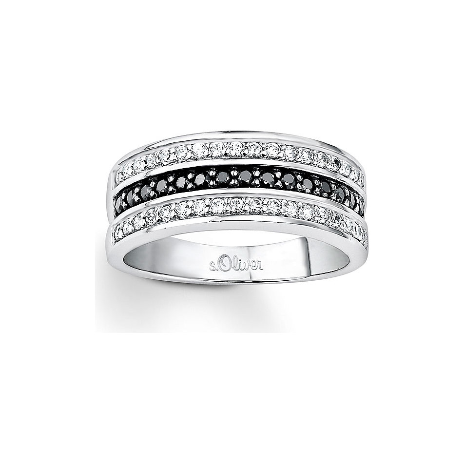 s.oliver damen-ring klassisch elegant verlobungsring 925 sterling, Badezimmer ideen