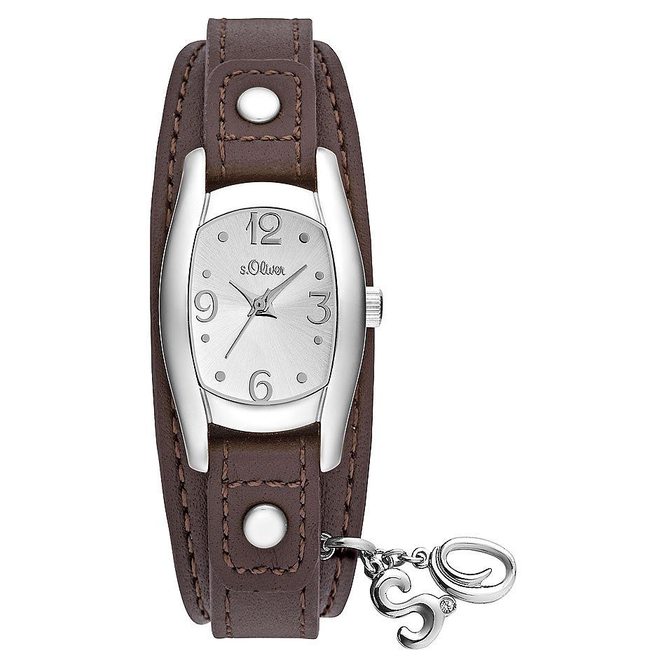 s.oliver damen-armbanduhr analog quarz leder so-3101-lq – edelbg.de, Badezimmer ideen