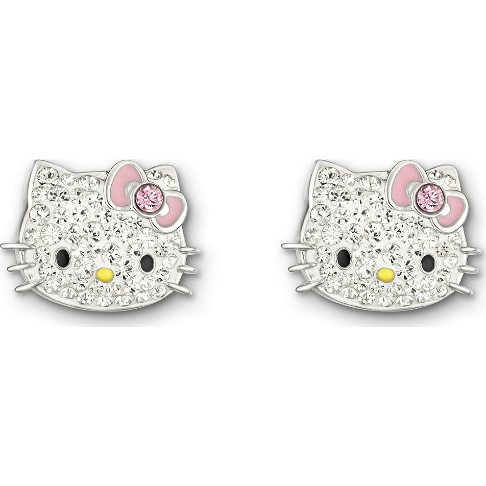hello kitty ohrringe gold
