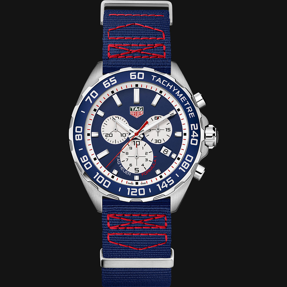 tag heuer chronograph red bull special edition caz1018. Black Bedroom Furniture Sets. Home Design Ideas