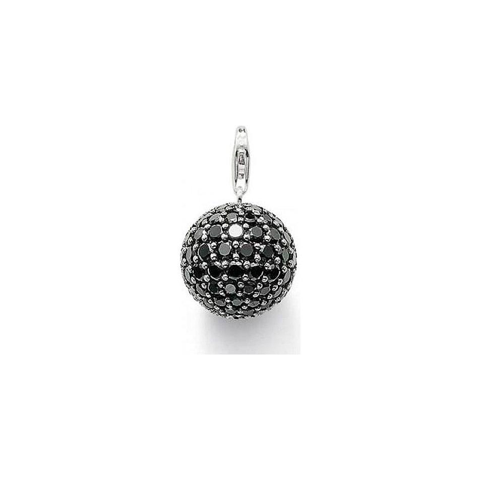 thomas sabo damen bead karma beads 925 sterling silber rauchquarz braun k0082 031 2. Black Bedroom Furniture Sets. Home Design Ideas
