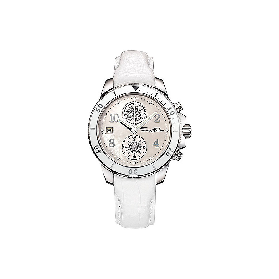 thomas sabo wa0050 it girl chronograph online kaufen bei. Black Bedroom Furniture Sets. Home Design Ideas