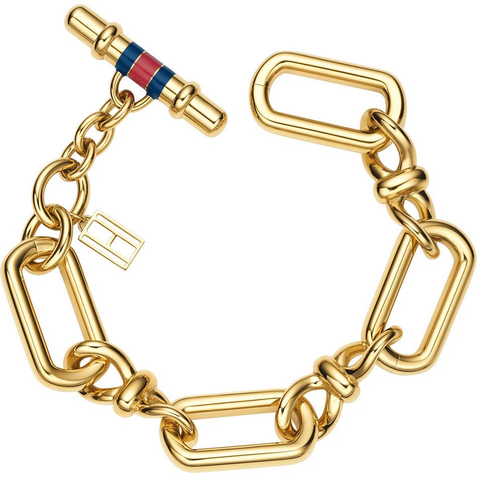 tommy hilfiger jewelry damen armband edelstahl emaille 190. Black Bedroom Furniture Sets. Home Design Ideas
