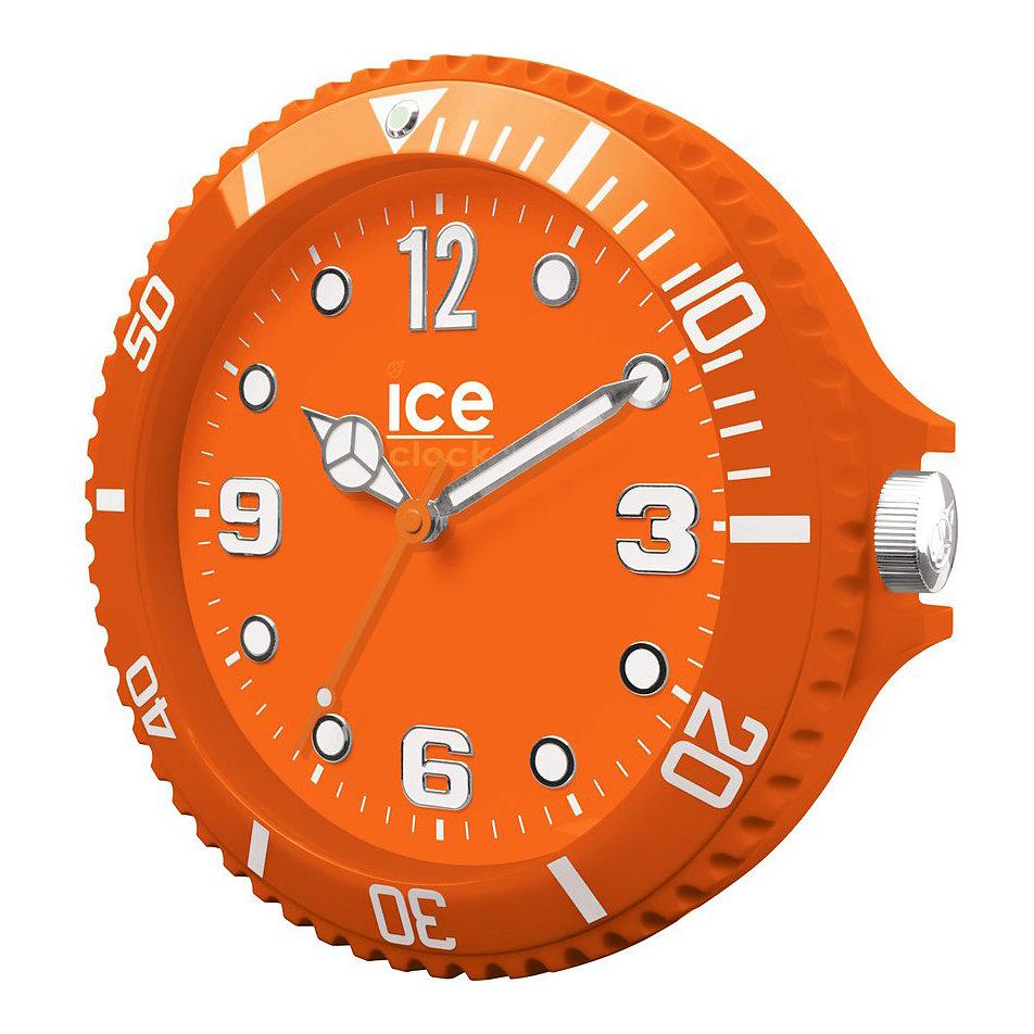 wanduhr ice clock orange lwfoe bei bestellen. Black Bedroom Furniture Sets. Home Design Ideas