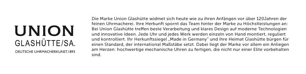 Union Glashütte Geschichte