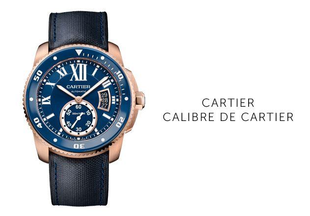 Calibre-de-Cartie Uhren