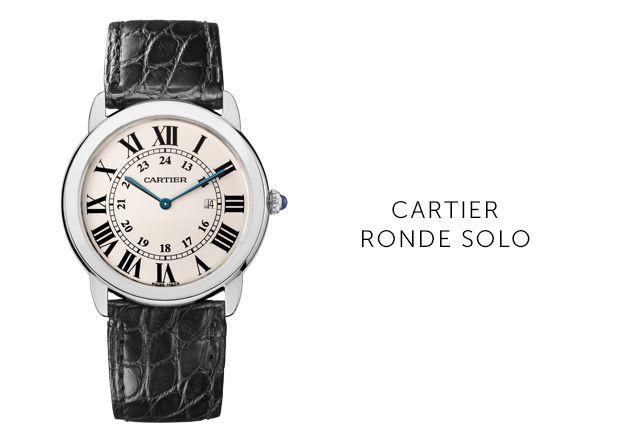 Cartier Ronde-Solo Uhren