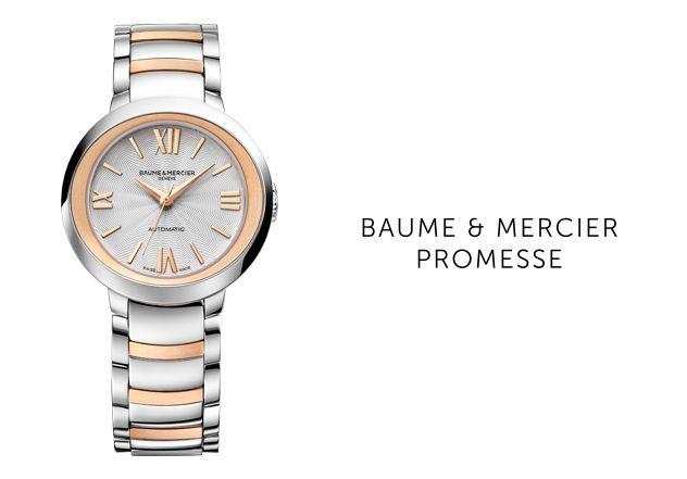 Baume et Mercier Linienbanner Promese