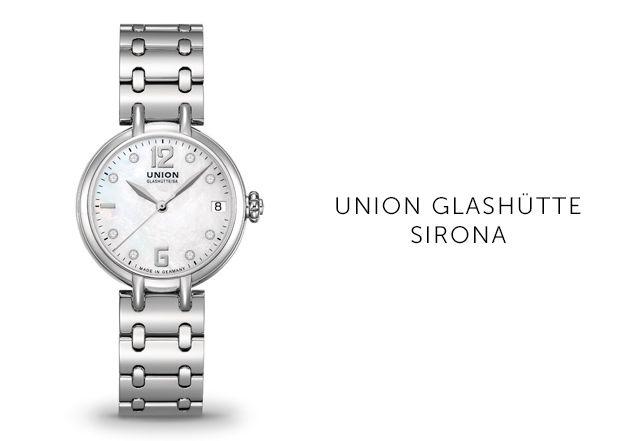 Union Glashütte Uhren Sirona