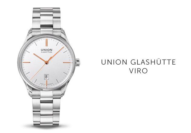 Union Glashütte Uhren Viro