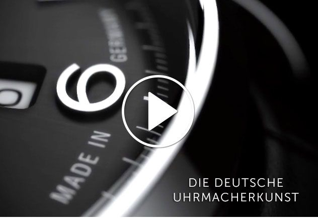 Union Glashütte Uhren Video