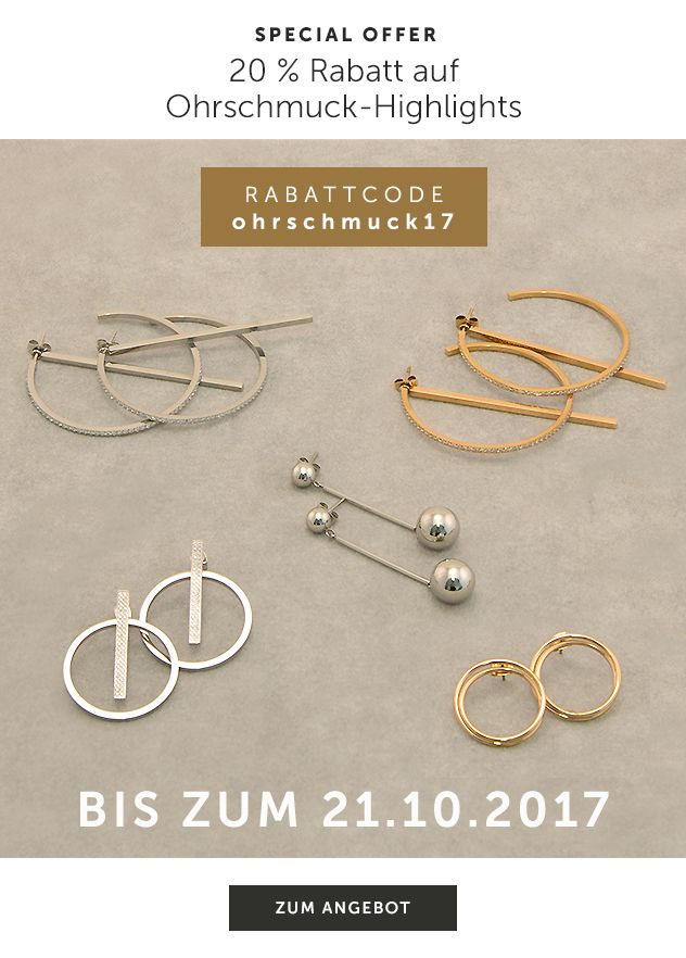 Special Offer Ohrschmuck