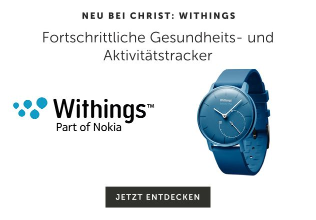 Neu bei CHRIST: Withings