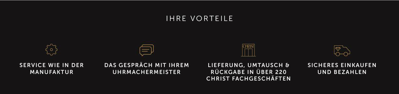 CHRIST Premium Vorteile