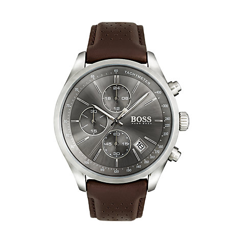 BOSS Herrenuhr Grand Prix Casual Sport 1513476