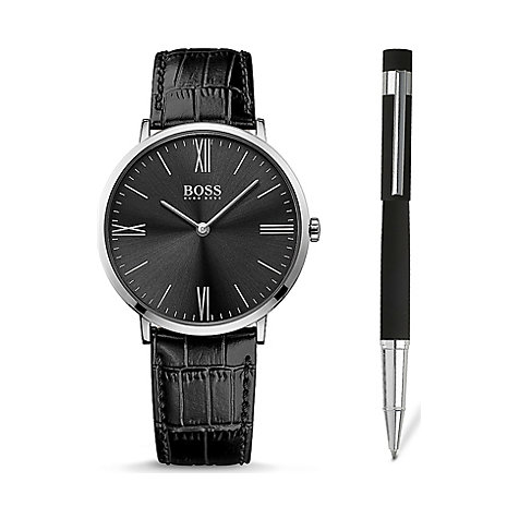 BOSS Herrenuhr Set Jackson