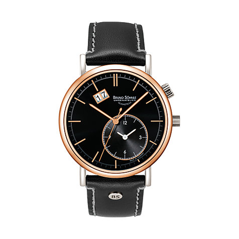 Bruno Söhnle Herrenuhr Lago Gmt 17-63156-741