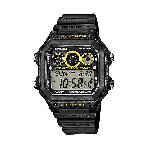 Casio Collection Chronograph AE-1300WH-1AVEF