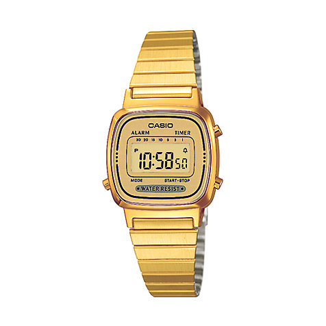 Casio Collection RETRO Chronograph LA670WEGA-9EF