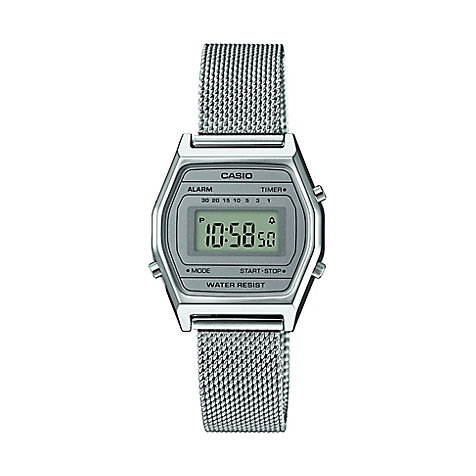 Casio Damenuhr Casio Collection Retro LA690WEM-7EF