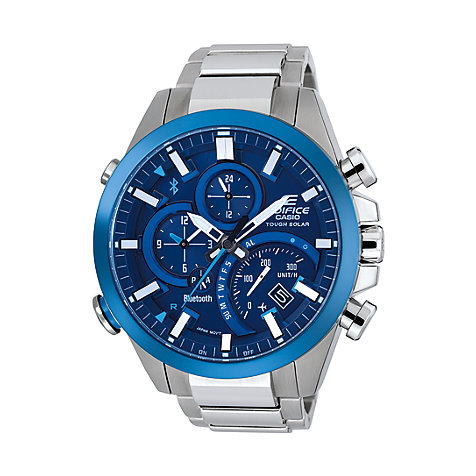Casio EDIFICE Premium Herrenuhr Bluetooth EQB-500DB-2AER