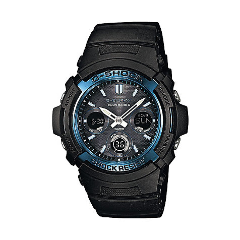 Casio G-SHOCK Classic Herrenchronograph AWG-M100A-1AER