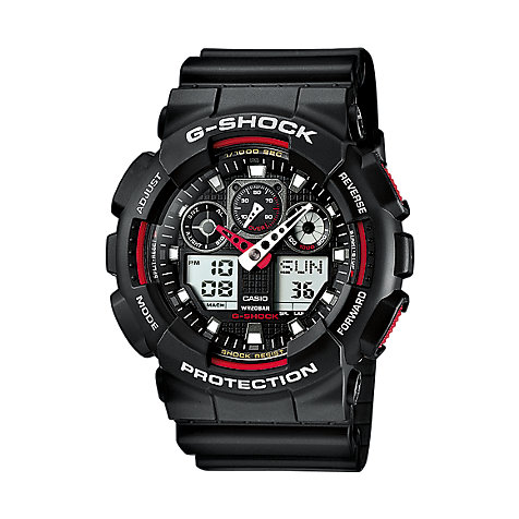 Casio G-SHOCK Classic Herrenchronograph GA-100-1A4ER