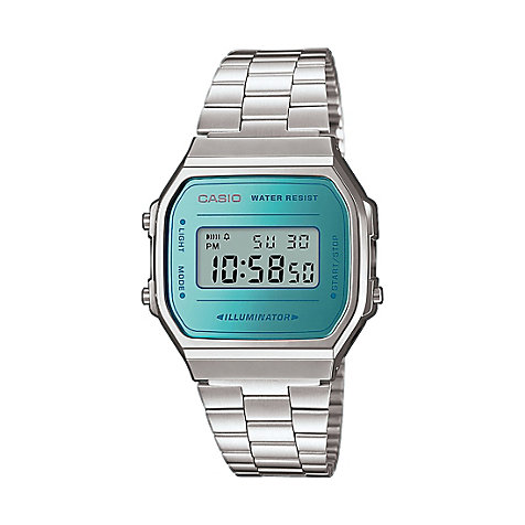 Casio Unisexuhr Collection Retro A168WEM-2EF