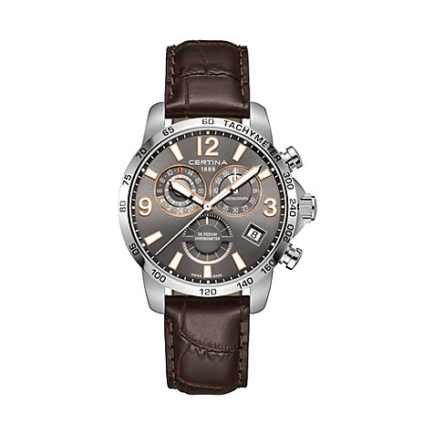 Certina Chronograph DS Podium Chronograph GMT C0346541608701