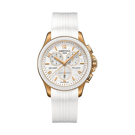 Certina Chronograph First Lady Ceramic Chrono C0302173703700