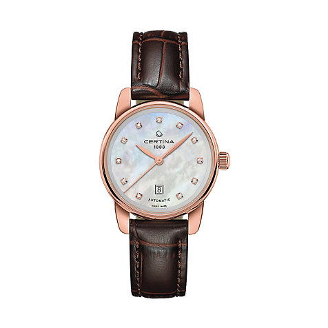 Certina Damenuhr DS Podium Lady Automatic C0010073611600
