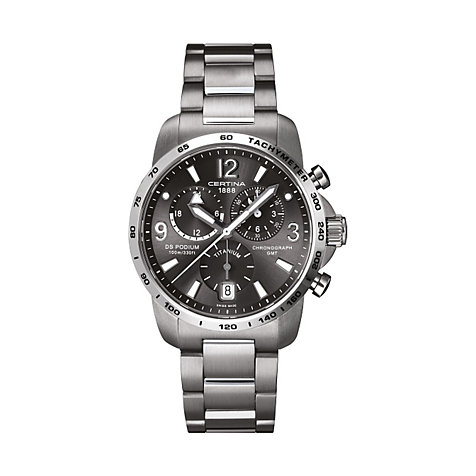 CERTINA DS Podium C001.639.44.087.00 GMT Chrono