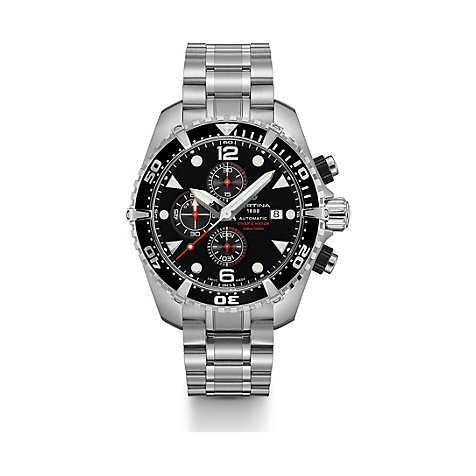Certina Herrenuhr DS Action Diver Chronograph C0324271105100