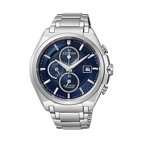 Citizen Eco-Drive Titanium Chronograph