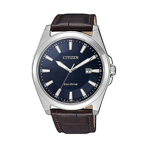 Citizen Herrenuhr Leather