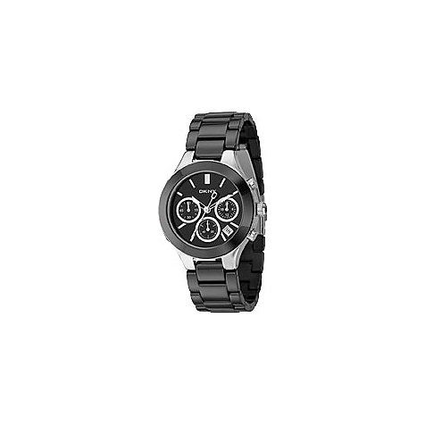 Dkny damen armbanduhr chronograph quarz keramik ny4983