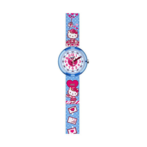 Flik Flak Kinderuhr Hello Kitty Cute Mail FLNP024