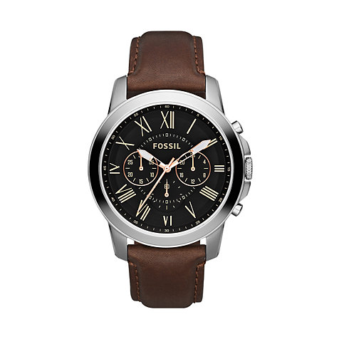 Fossil Herrenchronograph FS4813
