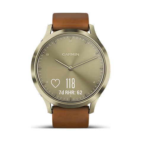 Garmin Damenuhr Vivomove HR Premium Gold 010-01850-05