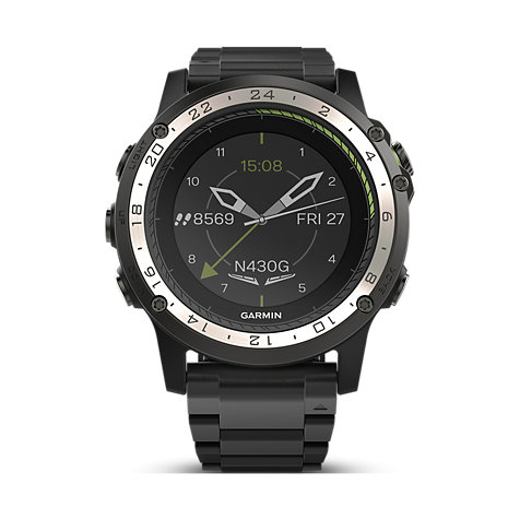 garmin smartwatch d2 charlie titanium 40 33 1828 bei. Black Bedroom Furniture Sets. Home Design Ideas