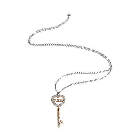 Guess Kette Heart Key JUBN83098JW