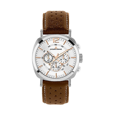 JACQUES LEMANS Herrenchronograph Lugano 1-1645D