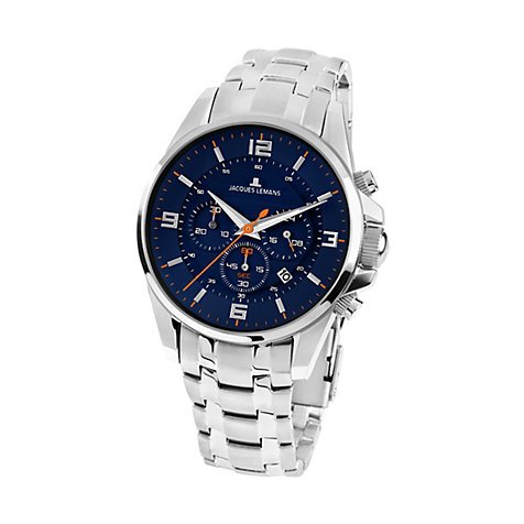 Jacques Lemans Herrenchronograph Liverpool 1-1799H