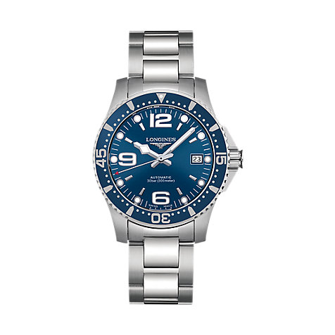 Longines Herrenuhr Hydro Conquest L3.641.4.96.6