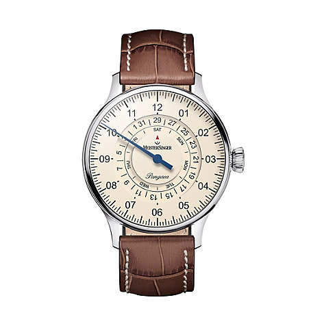 Meistersinger Unisexuhr Pangaea Day Date PDD903